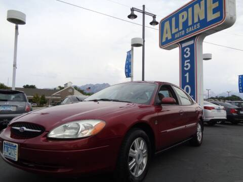 2003 Ford Taurus for sale at Alpine Auto Sales in Salt Lake City UT