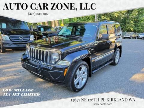 2012 Jeep Liberty for sale at Auto Car Zone, LLC in Kirkland WA
