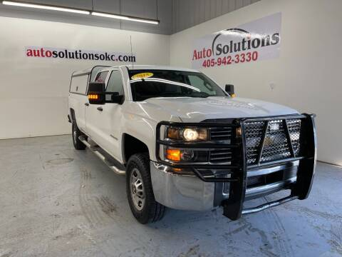 2015 Chevrolet Silverado 2500HD for sale at Auto Solutions in Warr Acres OK