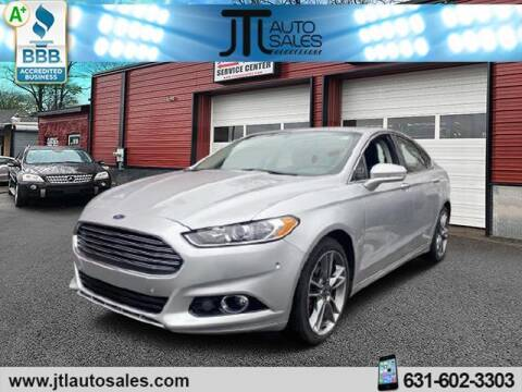 2016 Ford Fusion for sale at JTL Auto Inc in Selden NY