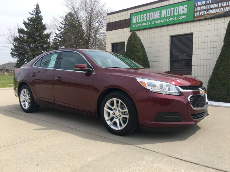 2016 Chevrolet Malibu Limited for sale at MILESTONE MOTORS in Chesterfield MI