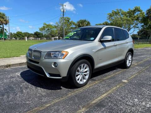 2013 BMW X3 for sale at Lamberti Auto Collection in Plantation FL