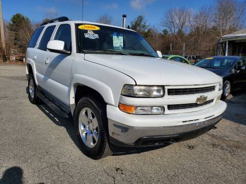 2006 Chevrolet Tahoe for sale at Oxford Auto Sales in North Oxford MA