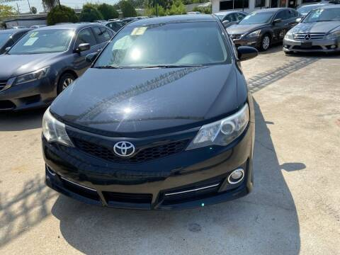 2013 Toyota Camry for sale at SOUTHWAY MOTORS in Houston TX