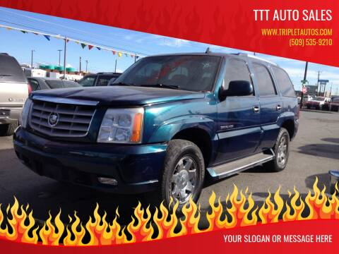 2006 Cadillac Escalade for sale at TTT Auto Sales in Spokane WA