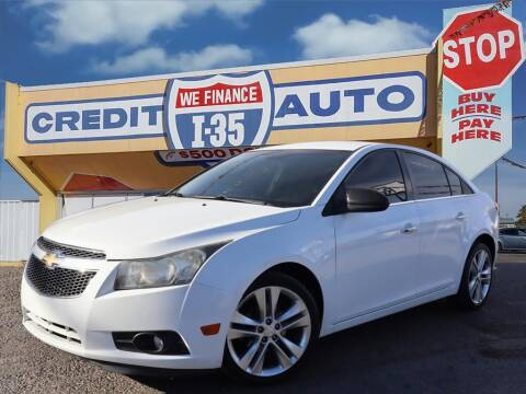 2012 Chevrolet Cruze for sale at Buy Here Pay Here Lawton.com in Lawton OK