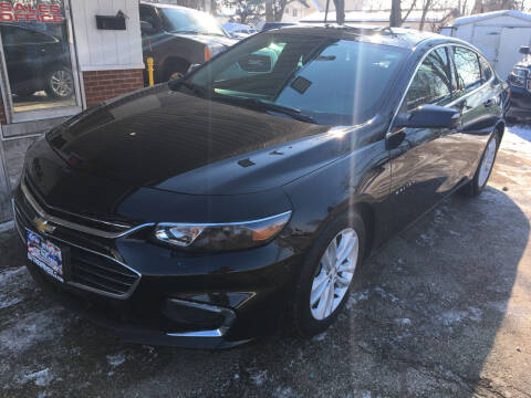2017 Chevrolet Malibu for sale at New Wheels in Glendale Heights IL
