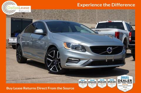 2018 Volvo S60 for sale at Dallas Auto Finance in Dallas TX