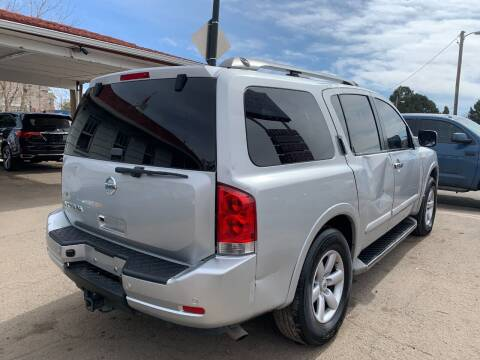 2013 Nissan Armada for sale at STS Automotive in Denver CO
