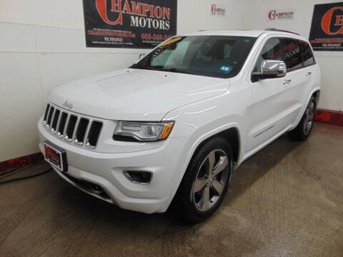 2015 Jeep Grand Cherokee for sale at Champion Motors in Amherst NH