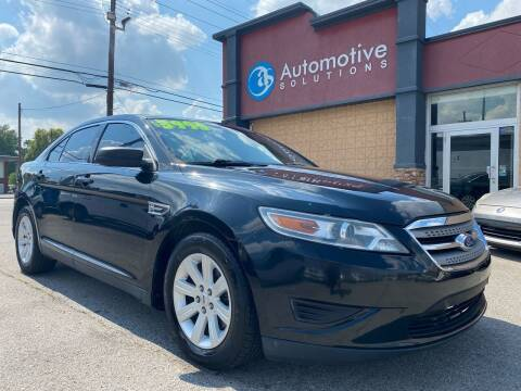 2011 Ford Taurus for sale at Automotive Solutions in Louisville KY