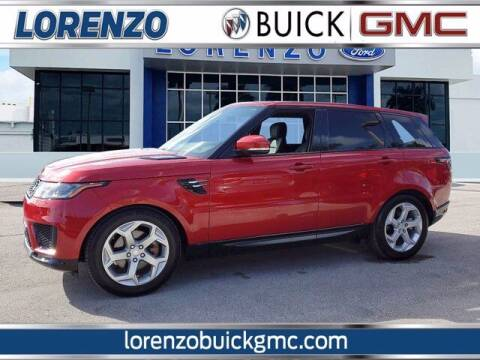 2019 Land Rover Range Rover Sport for sale at Lorenzo Buick GMC in Miami FL