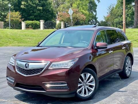 2014 Acura MDX for sale at Sebar Inc. in Greensboro NC