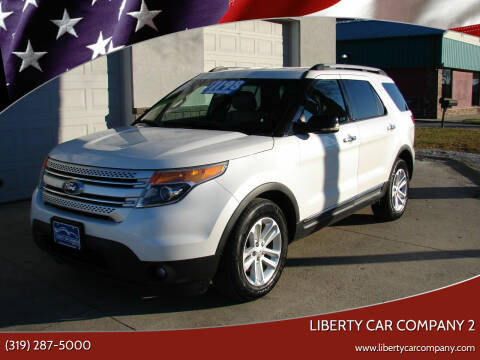 2012 Ford Explorer for sale at Liberty Car Company - II in Waterloo IA