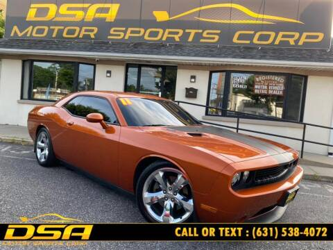 2011 Dodge Challenger for sale at DSA Motor Sports Corp in Commack NY
