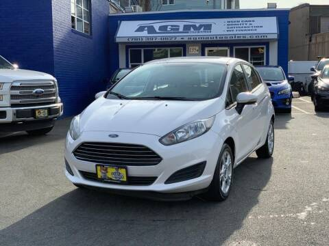 2016 Ford Fiesta for sale at AGM AUTO SALES in Malden MA