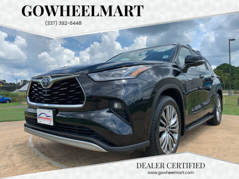 2020 Toyota Highlander Hybrid for sale at GOWHEELMART in Leesville LA