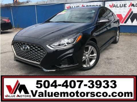 2018 Hyundai Sonata for sale at Value Motors Company in Marrero LA