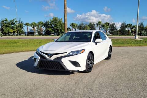 2018 Toyota Camry for sale at FLORIDA USED CARS INC in Fort Myers FL