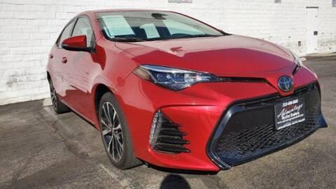 2017 Toyota Corolla for sale at ADVANTAGE AUTO SALES INC in Bell CA