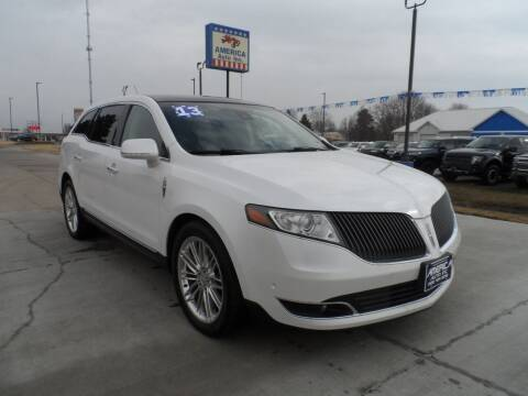 2013 Lincoln MKT for sale at America Auto Inc in South Sioux City NE