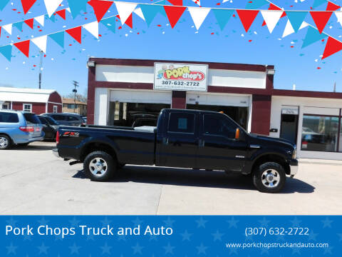2006 Ford F-250 Super Duty for sale at Pork Chops Truck and Auto in Cheyenne WY
