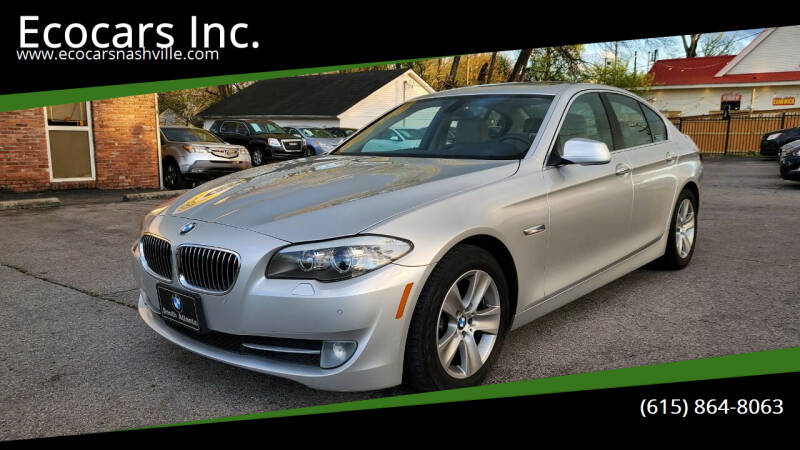 2012 BMW 5 Series for sale at Ecocars Inc. in Nashville TN