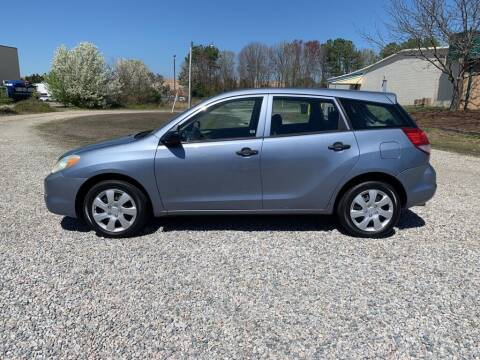 2004 Toyota Matrix for sale at MEEK MOTORS in North Chesterfield VA