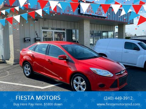 2013 Ford Focus for sale at FIESTA MOTORS in Hagerstown MD