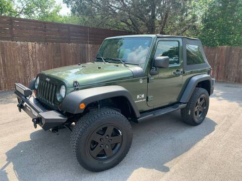 2009 Jeep Wrangler for sale at TROPHY MOTORS in New Braunfels TX