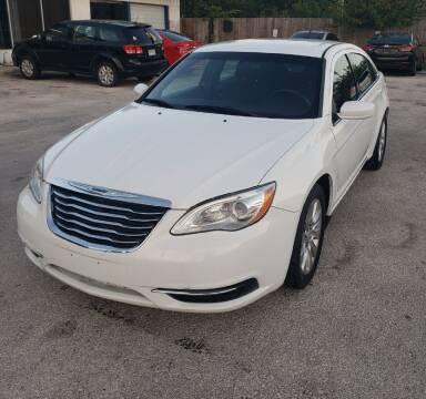 2014 Chrysler 200 for sale at Apex Auto SA in San Antonio TX