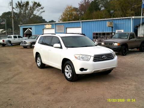 2009 Toyota Highlander for sale at Tom Boyd Motors in Texarkana TX
