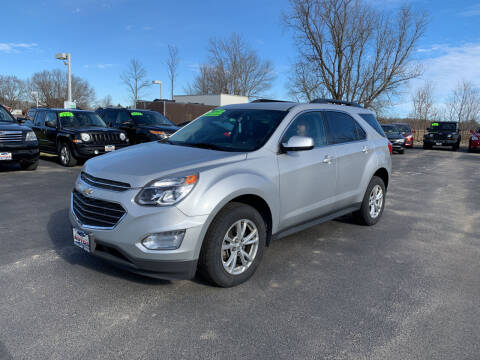 2017 Chevrolet Equinox for sale at Excellent Autos in Amsterdam NY