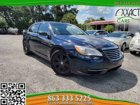 2013 Chrysler 200 for sale at Exxact Cars in Lakeland FL