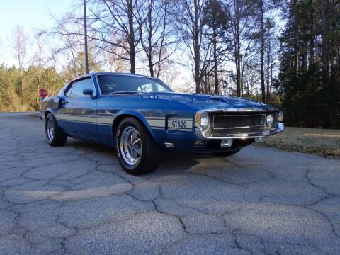 1969 Ford Shelby GT500 for sale at CAROLINA CLASSIC AUTOS in Fort Lawn SC