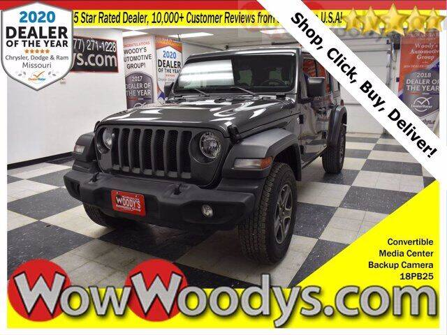 2018 Jeep Wrangler Unlimited for sale at WOODY'S AUTOMOTIVE GROUP in Chillicothe MO