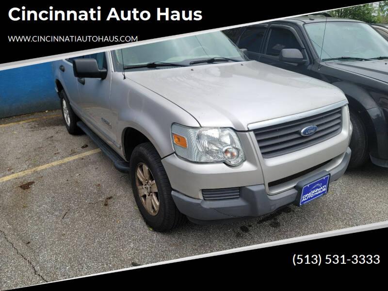 2006 Ford Explorer for sale at Cincinnati Auto Haus in Cincinnati OH