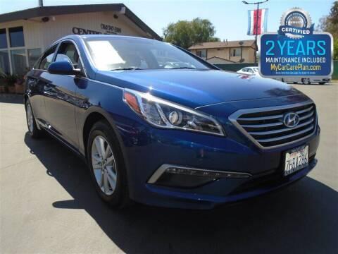2015 Hyundai Sonata for sale at Centre City Motors in Escondido CA