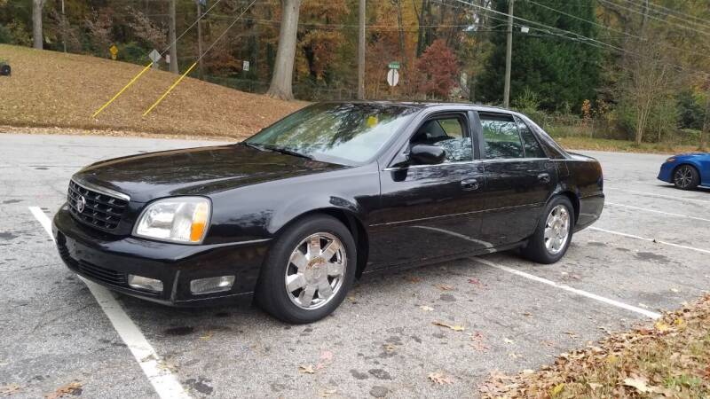 2005 Cadillac DeVille for sale at Hometown Auto Brokers LLC in Marietta GA