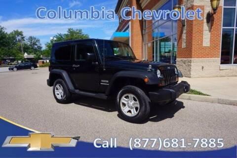 2012 Jeep Wrangler for sale at COLUMBIA CHEVROLET in Cincinnati OH