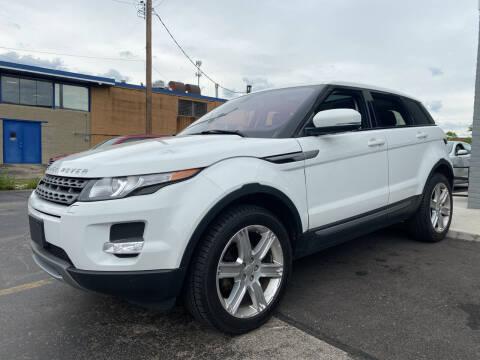 2012 Land Rover Range Rover Evoque for sale at Abrams Automotive Inc in Cincinnati OH