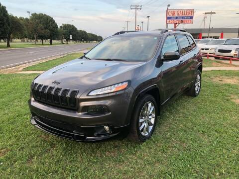 2018 Jeep Cherokee for sale at Car Gallery in Oklahoma City OK