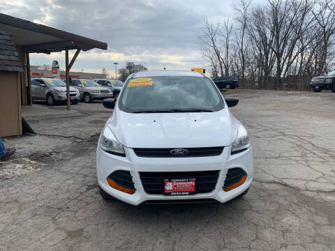 2015 Ford Escape for sale at Community Auto Brokers in Crown Point IN