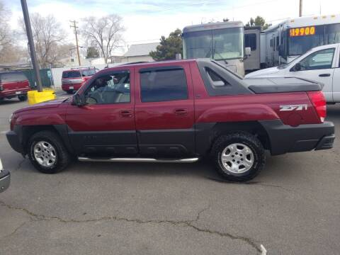2005 Chevrolet Avalanche for sale at Freds Auto Sales LLC in Carson City NV