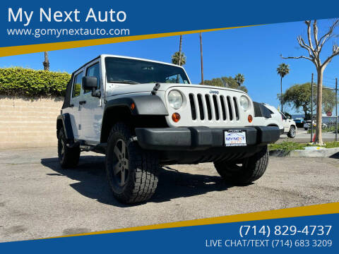 2009 Jeep Wrangler Unlimited for sale at My Next Auto in Anaheim CA