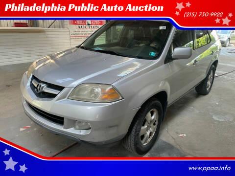2005 Acura MDX for sale at Philadelphia Public Auto Auction in Philadelphia PA