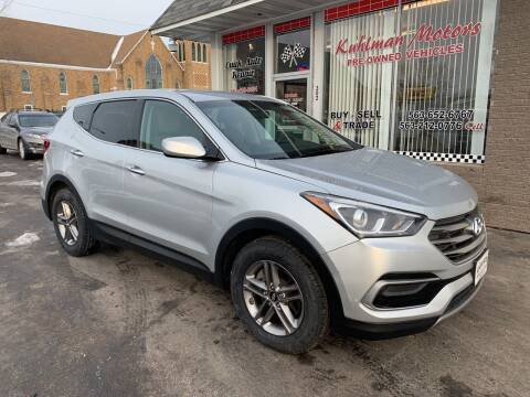2017 Hyundai Santa Fe Sport for sale at KUHLMAN MOTORS in Maquoketa IA