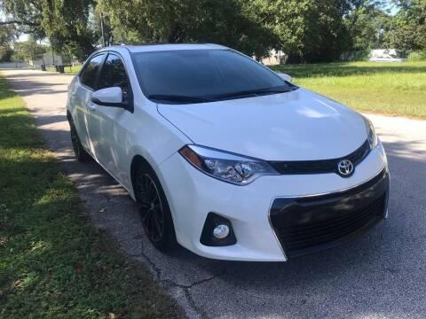 2015 Toyota Corolla for sale at P J Auto Trading Inc in Orlando FL