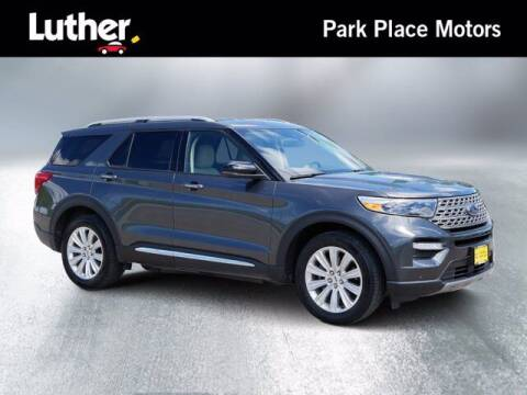 2020 Ford Explorer for sale at Park Place Motor Cars in Rochester MN