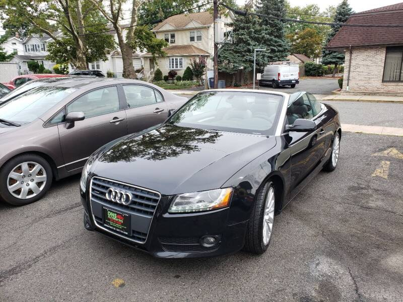 2012 Audi A5 for sale at DNS Automotive Inc. in Bergenfield NJ